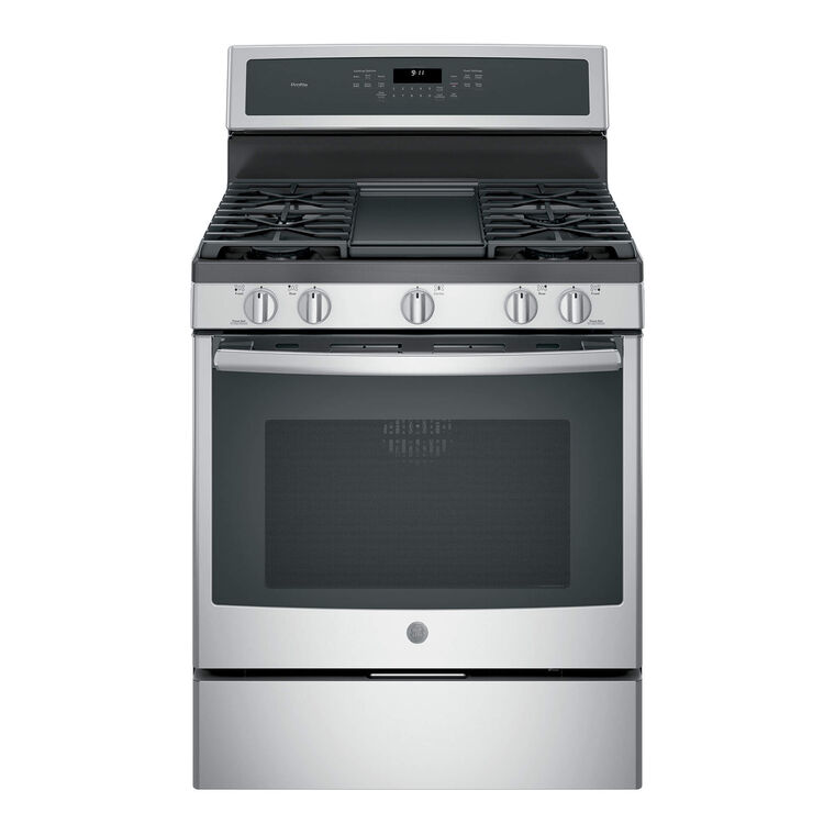 5.6 cu. ft. Self Cleaning Gas Range - Stainless Steel