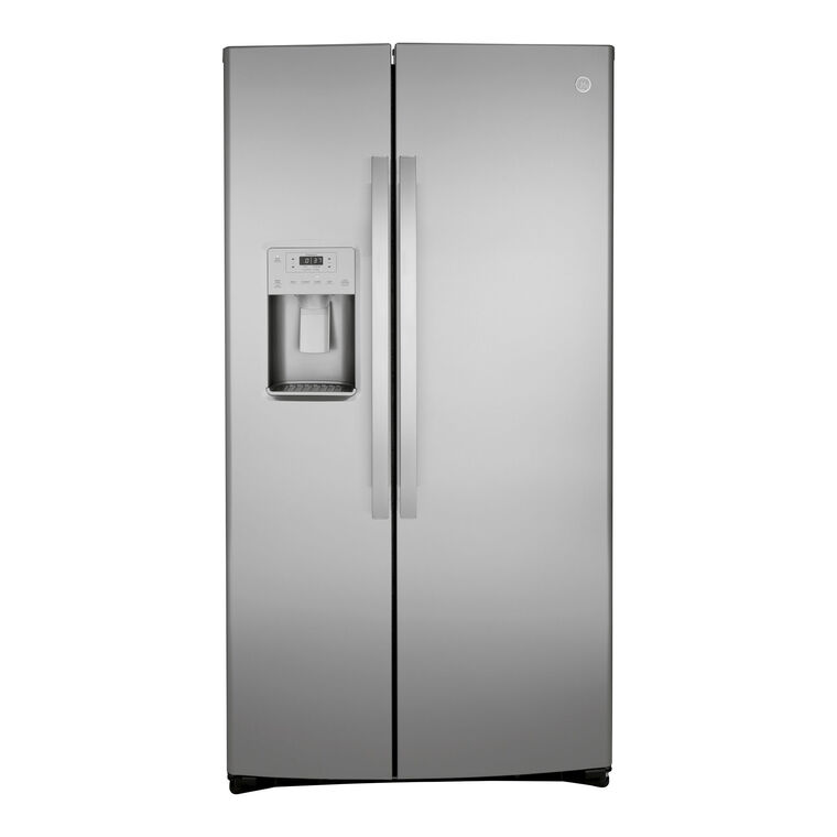 25.1 cu. ft. Side-by-Side Refrigerator - Stainless Steel
