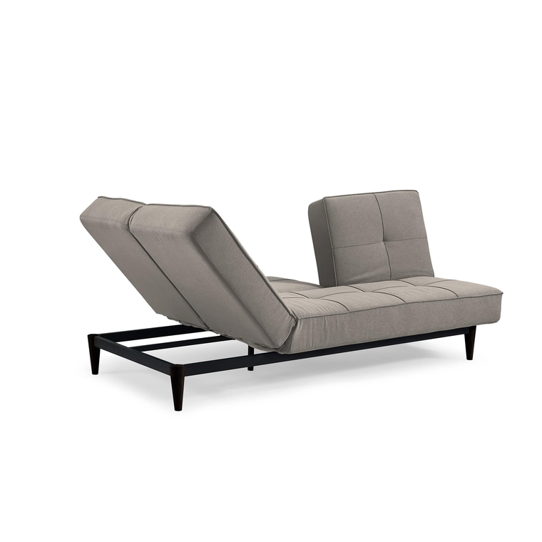 Russell Ella Mushroom Triple Splitback Convertible Sofa with Chaise