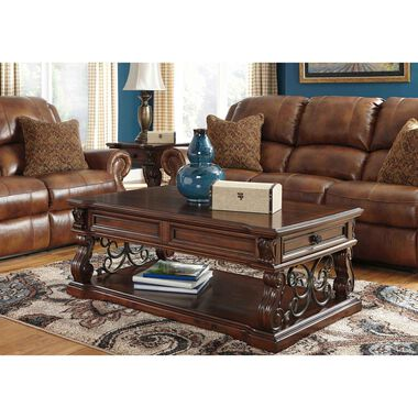 4-Piece Alymere Cocktail, 2 End Tables & Sofa Table Set