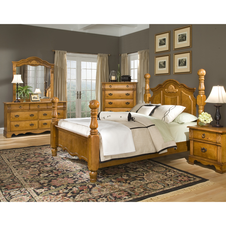 11-Piece Bryant Queen Bedroom Collection With Pillow Top Mattress