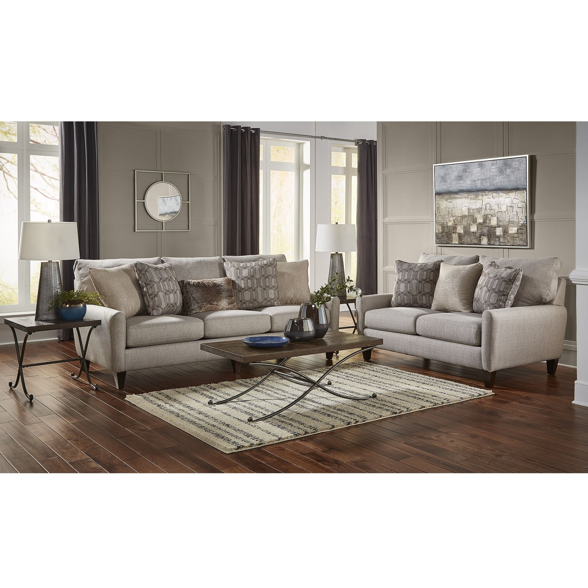 7 Piece Ackland Living Room Collection. Jackson Furniture