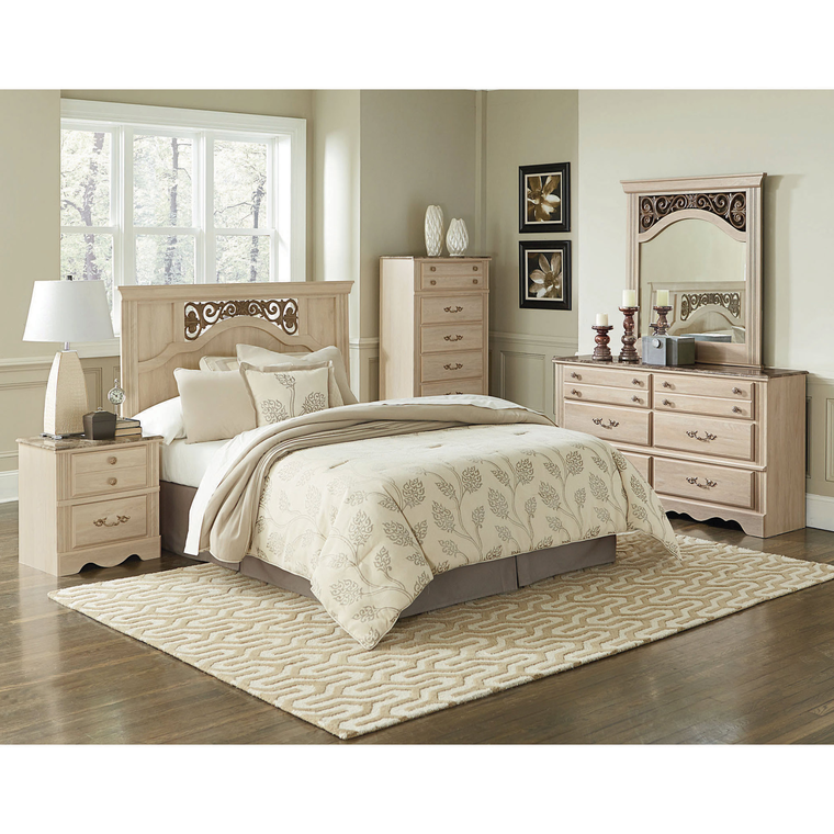 5-Piece Montecito Full/Queen Bedroom Collection | Tuggl