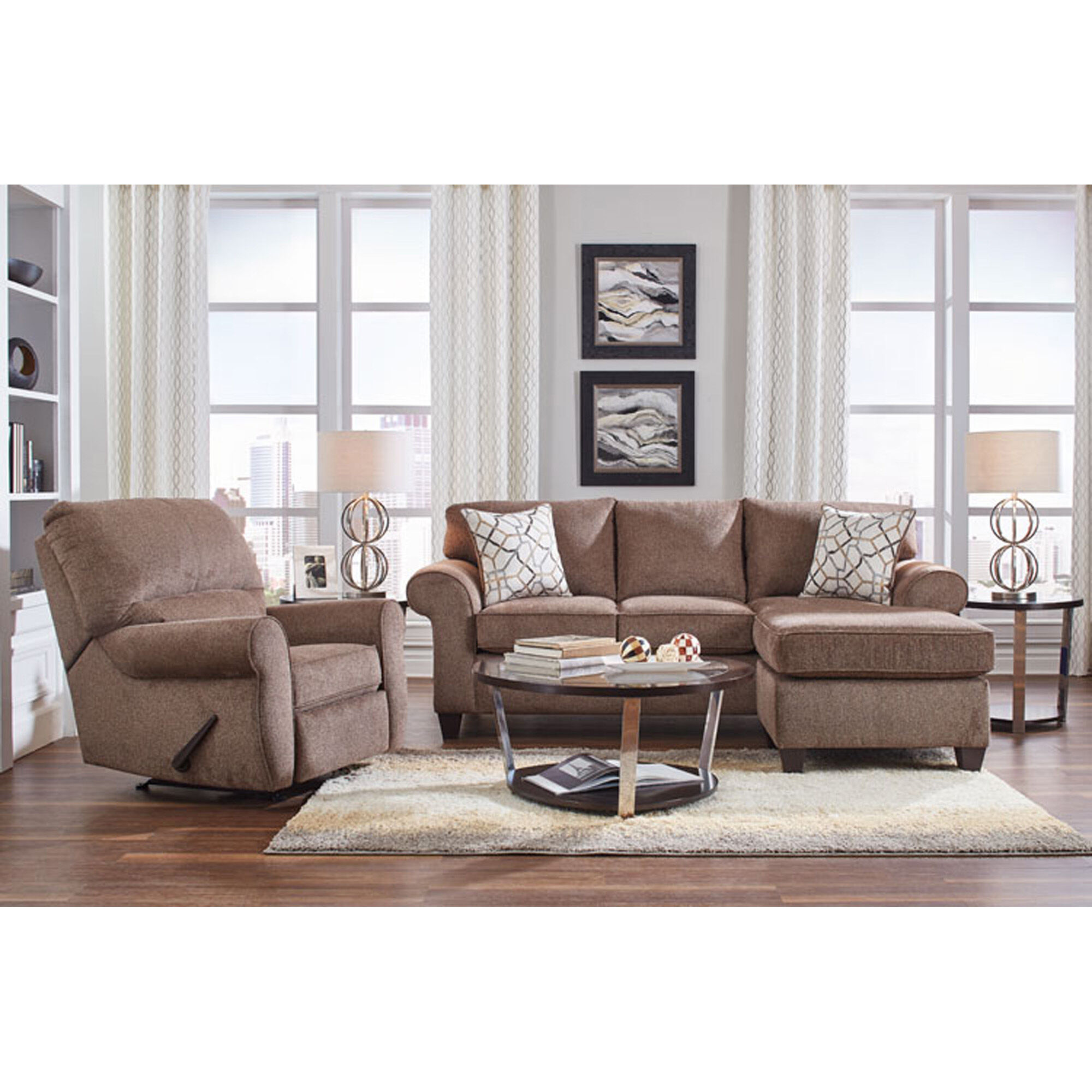 Great 7 Piece Hayley Living Room Collection