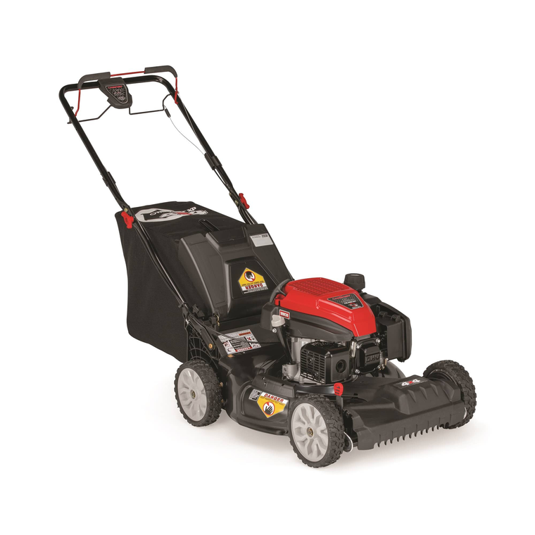 "21"" 159cc AWD Self-Propelled Push Mower"