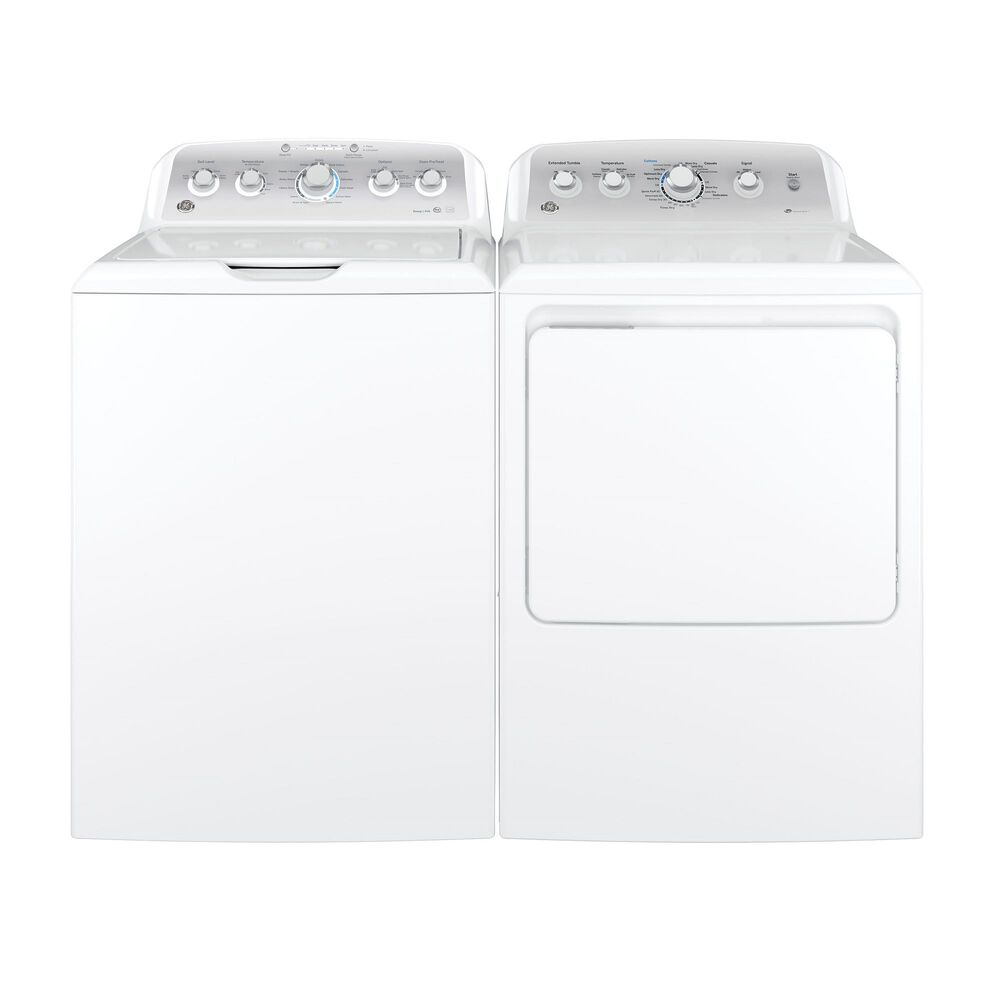 4 4 cu  ft  HE Top Load Washer & 7 2 cu  ft  Electric Dryer