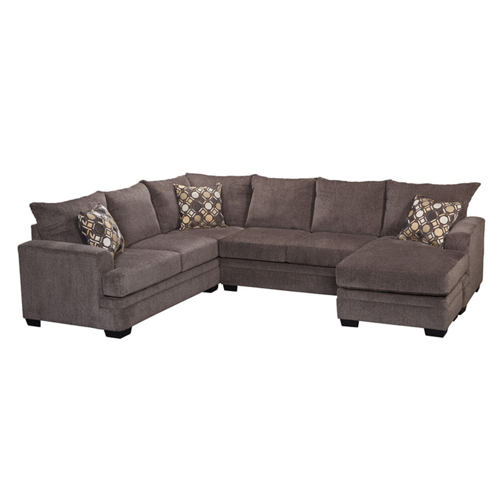 Swell 3 Piece Kimberly Sectional Living Room Collection With Storage Ottoman Frankydiablos Diy Chair Ideas Frankydiabloscom
