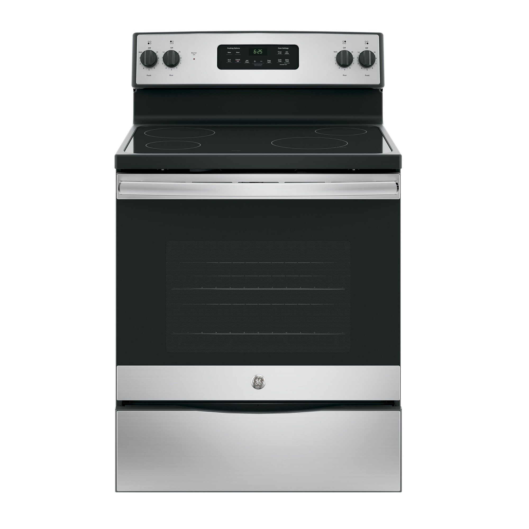 Self Cleaning Electric Range With Ceramic Cooktop   Stainless
