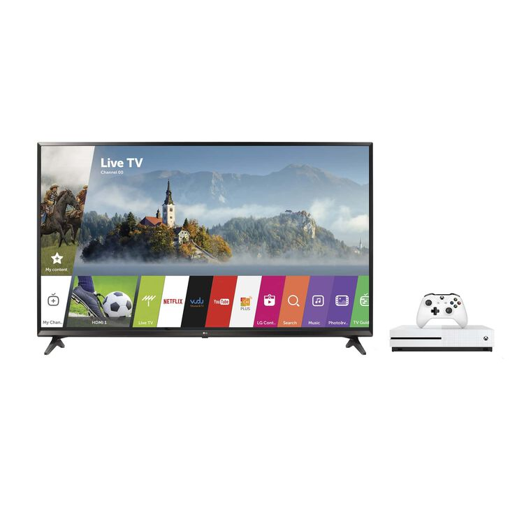 "49"" Class (48.5"" Diag.) 4K UHD LED Smart TV & 500 GB Xbox One S Bundle"