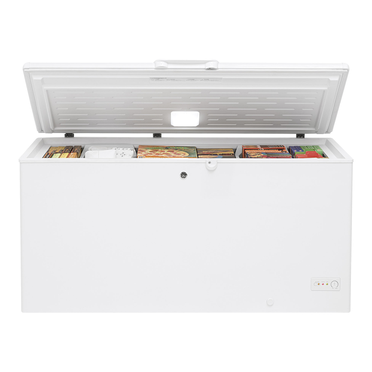15.7 cu. ft. Energy Star Manual Defrost Chest Freezer