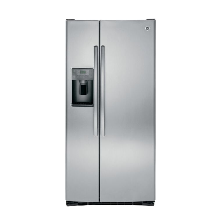 22.5 cu. ft. Side-by-Side Refrigerator with Ice and Water - Stainless