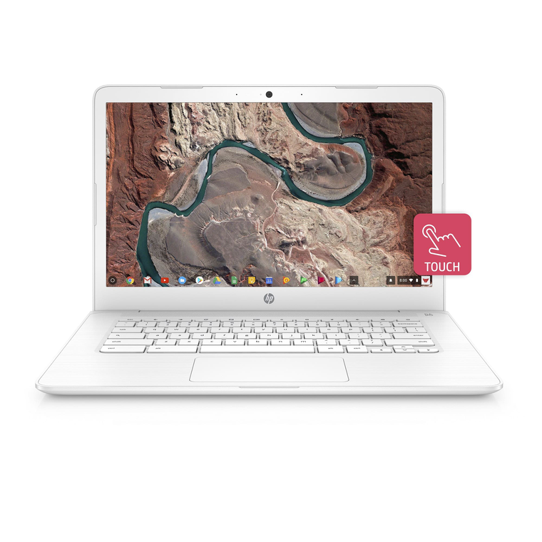 Chromebook 14 with Intel® Celeron® N3350 Processor - White