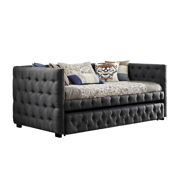 Janell Daybed - Charcoal