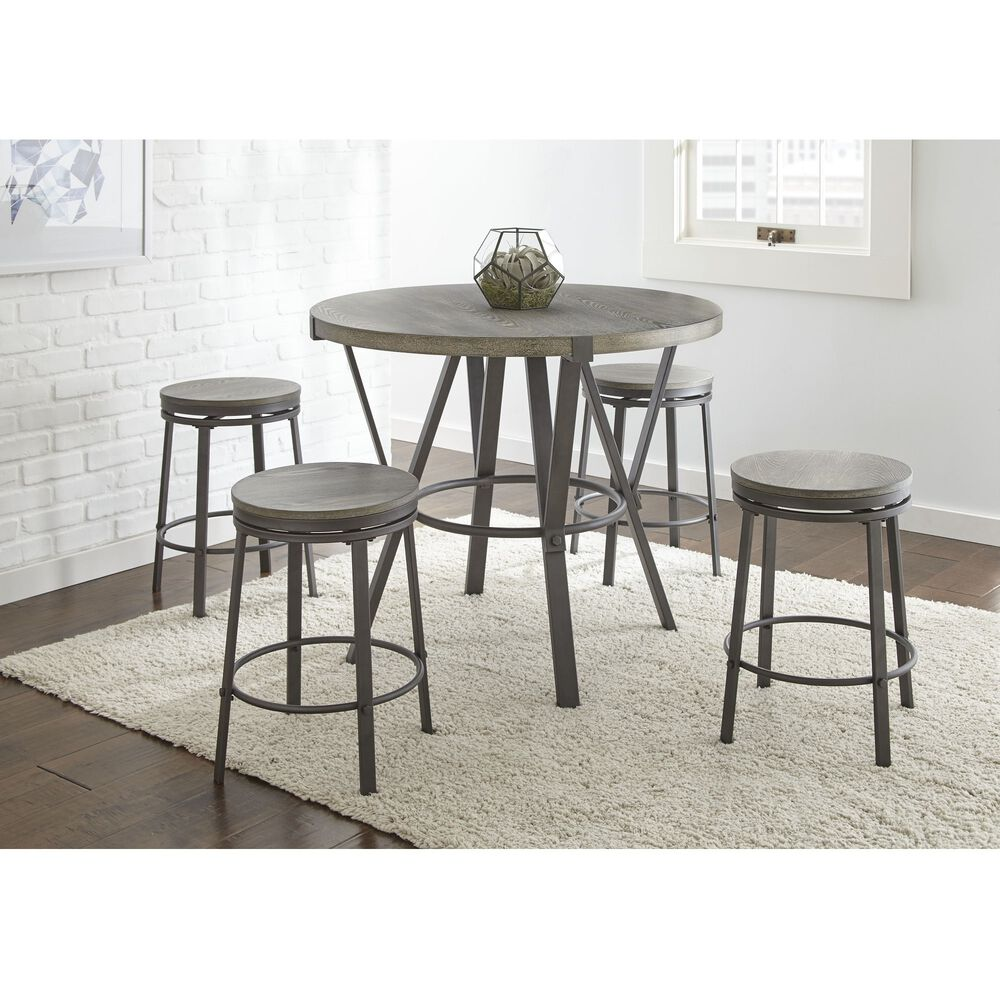 Dining Room Collections: Steve Silver Dining Room 5-Piece Portland Dining Room