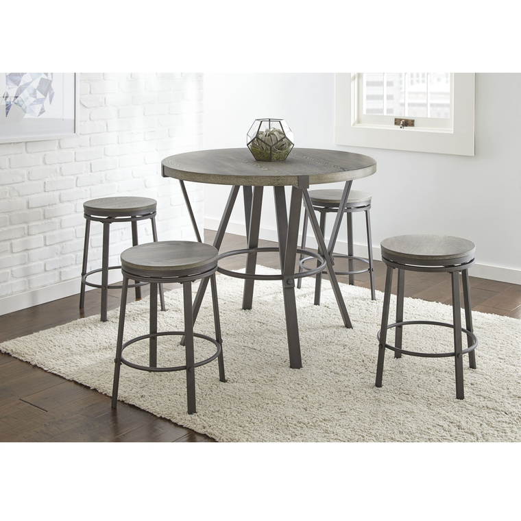 Counter Height Dining Room: Steve Silver Dining Room 5-Piece Portland Counter Height