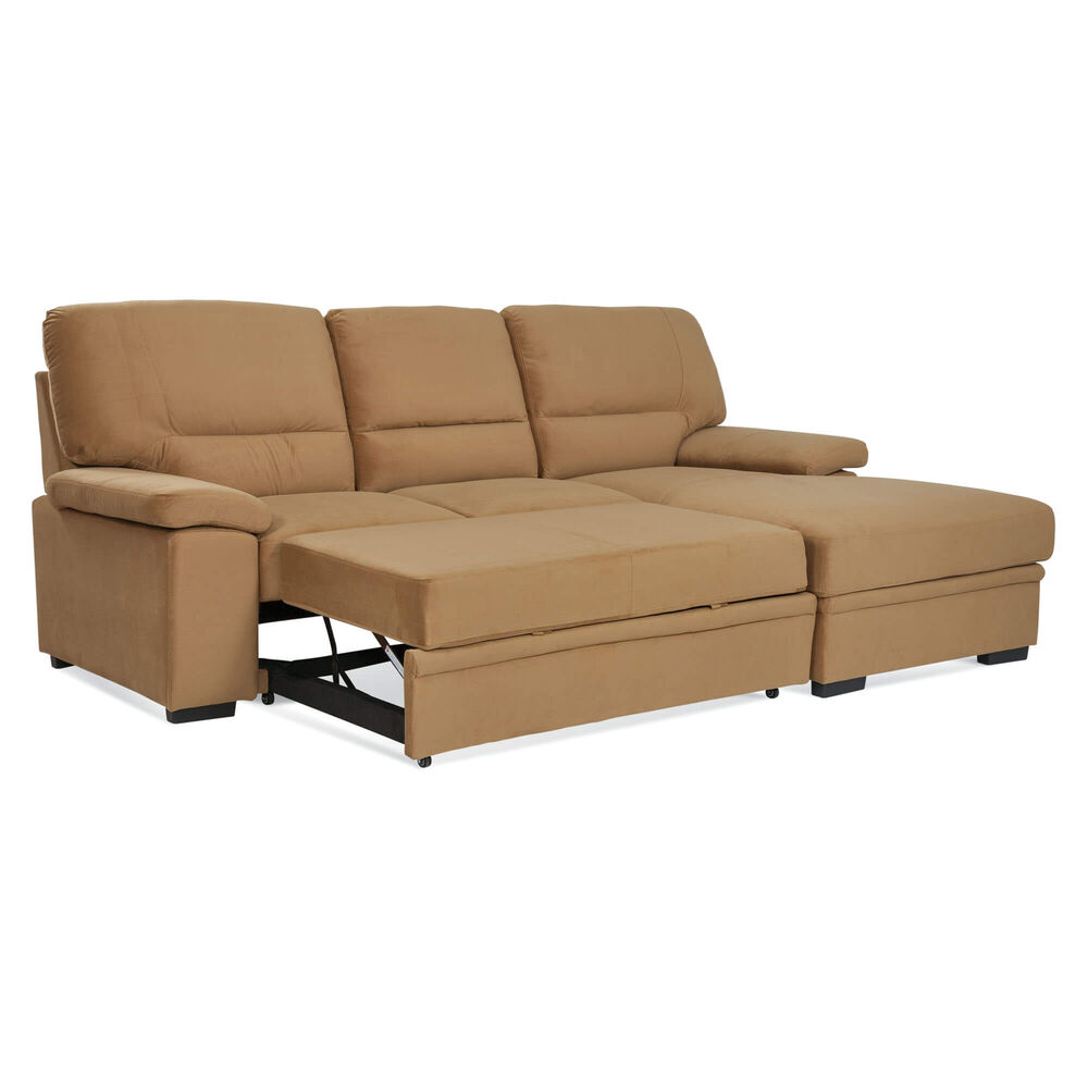 Rent to Own Amalfi 2 Piece Sybil Sectional Chaise Sleeper ...