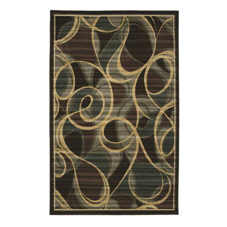 Menagerie Transitional Swirl Rug | Tuggl