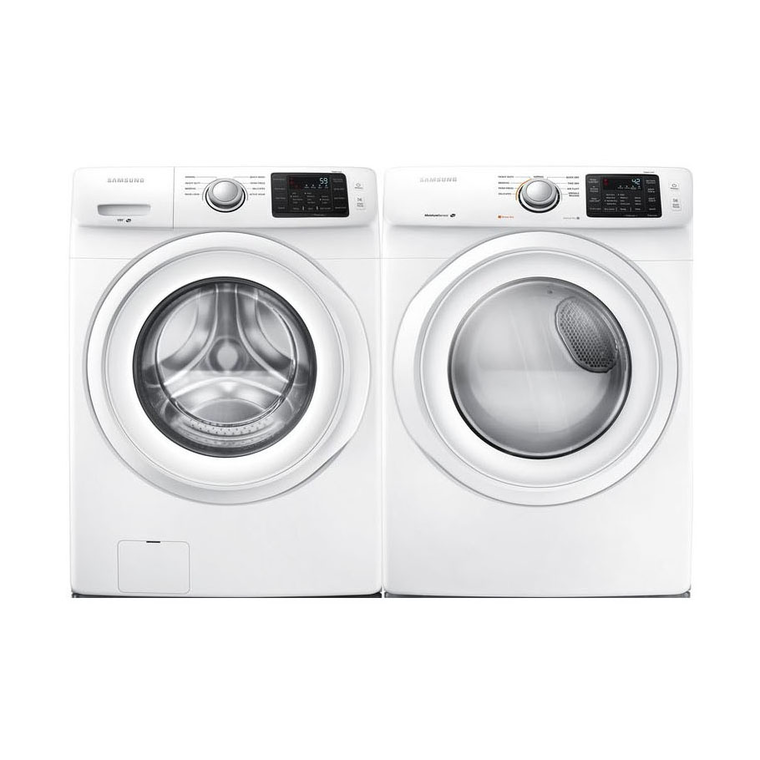 4.2 cu.  ft. Front Load Washer &  7.5 cu. ft.  Gas Dryer