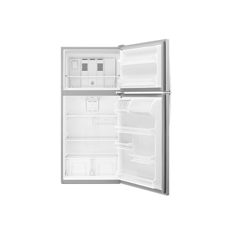 "18 cu. ft. 30"" Top Freezer Refrigerator - Stainless Steel"