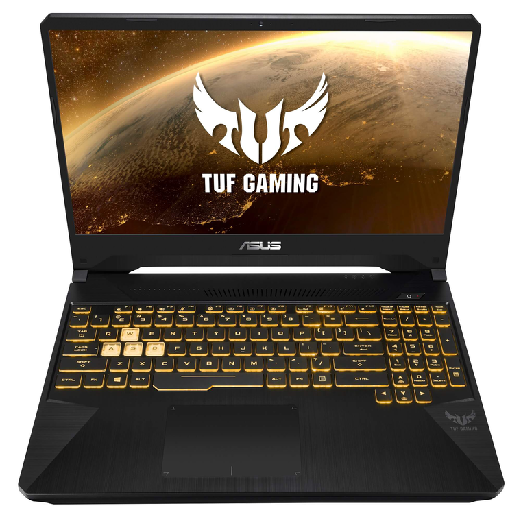 "15.6"" TUF Gaming Laptop with Ryzen 7 CPU 22"" Gaming Monitor & Total Defense Internet Security"
