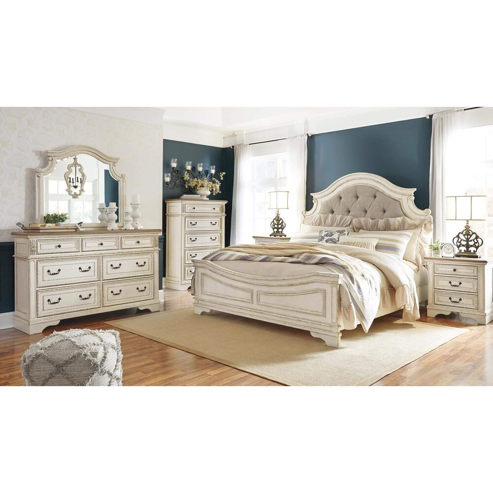 rent to own ashley 7piece realyn bedroom set at aaron's