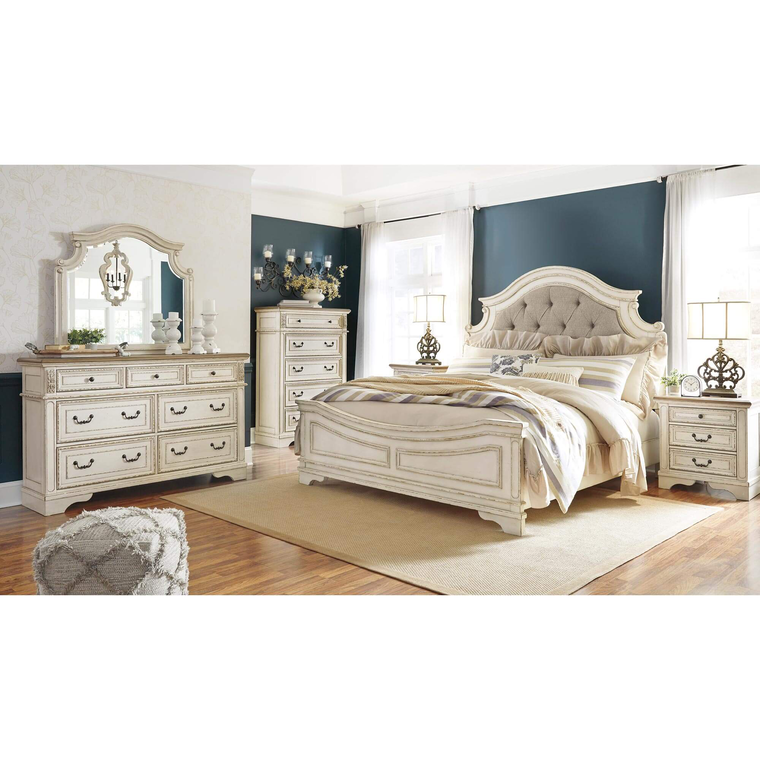 Rent to Own Ashley 7-Piece Realyn Bedroom Set at Aaron's ...