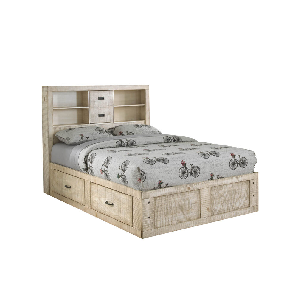 Rent to Own Oak Furniture West 6-Piece Captain's Youth ...