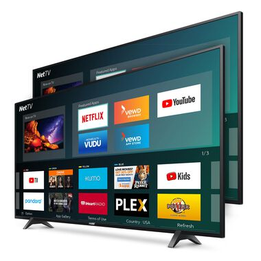 "2 TV Bundle - Two 55"" Class Smart 4K UHD TVs"