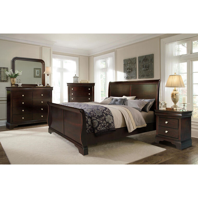 picture of bedroom furniture. 7-Piece Dominique Queen Bedroom Collection · Riversedge Furniture Picture Of