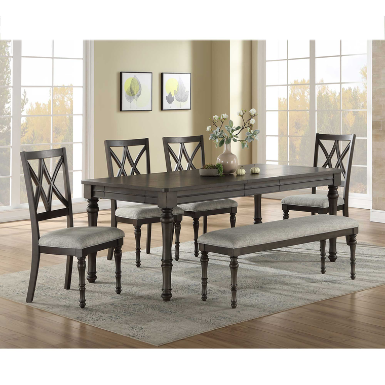 6-Piece Linnett Dining Room Collection