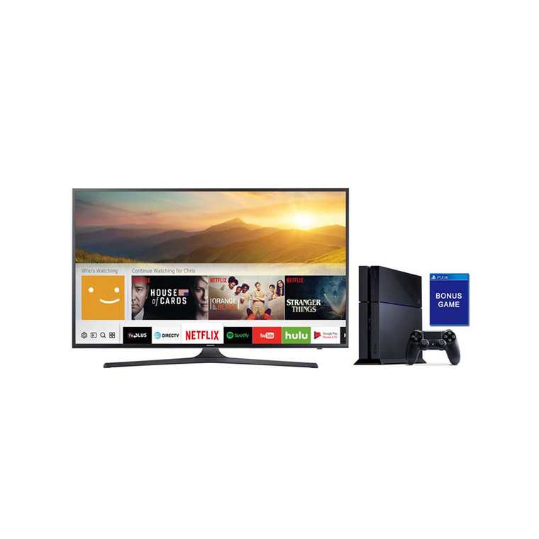 "50"" Class (49.5"" Diag) Smart 4K UHD TV & Playstation 4 with Bonus Game Bundle 
