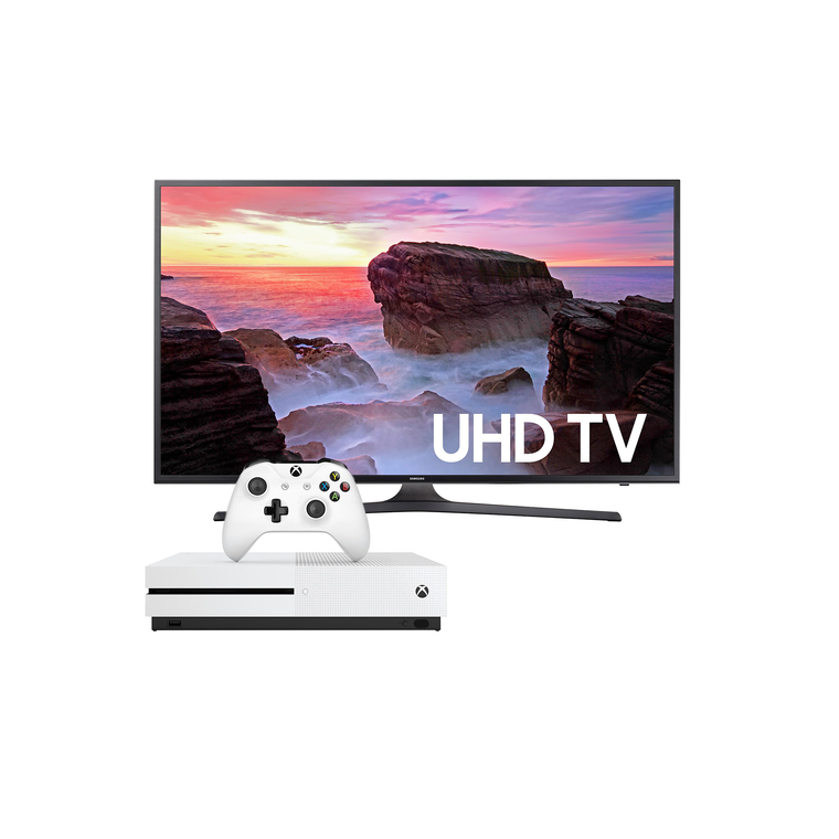 "55"" Class (54.6"" Diag) Smart 4K UHD TV & Xbox One S with Bonus Game Bundle 