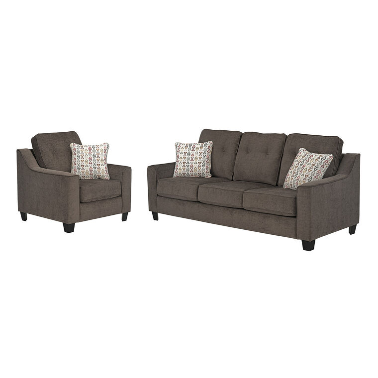 2-Piece Marco Sofa and Chair