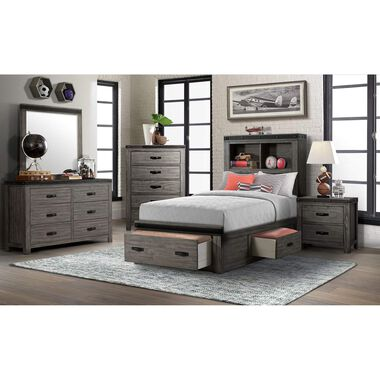 5-Piece Wade Twin Storage Bedroom