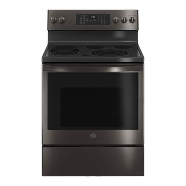 5.3 cu. ft. Self Clean Electric Convection Range - Black Stainless Steel