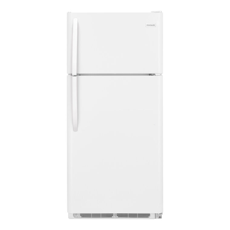 18 cu. ft. Top Mount Refrigerator - White
