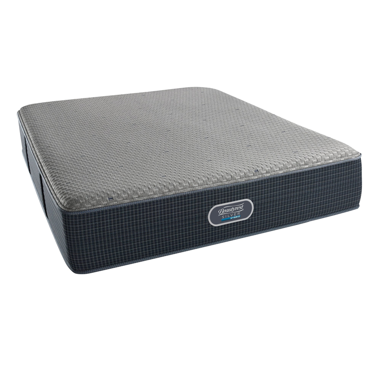 Maplewood Hybrid Queen Mattress Set with Woodhaven Foundation and Protectors