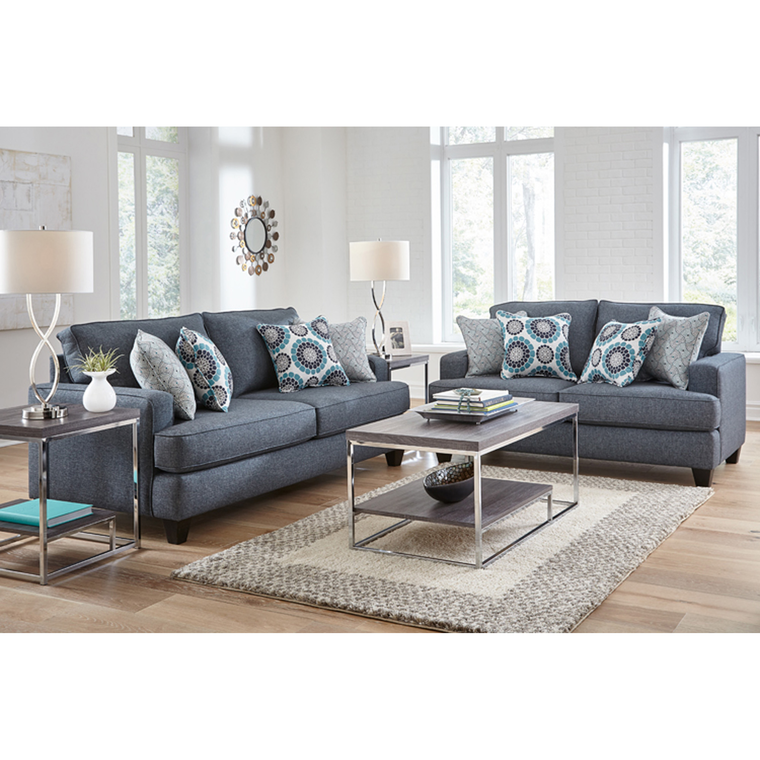 7-Piece Carmela Living Room Collection | Tuggl