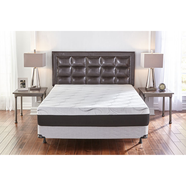 "10"" Memory Foam King Mattress Set"
