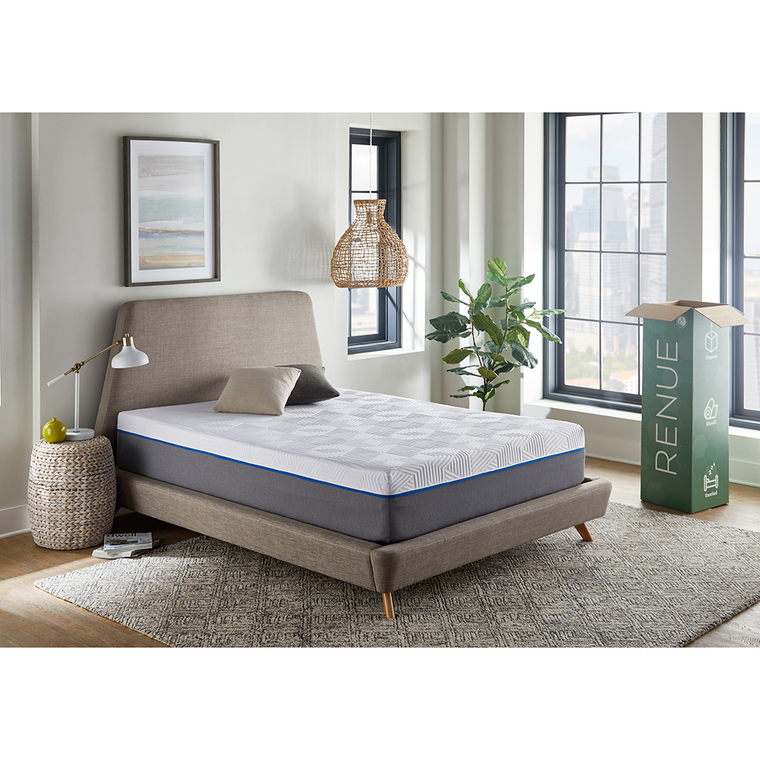 "12"" Tight Top Medium King Gel Memory Foam Boxed Mattress"