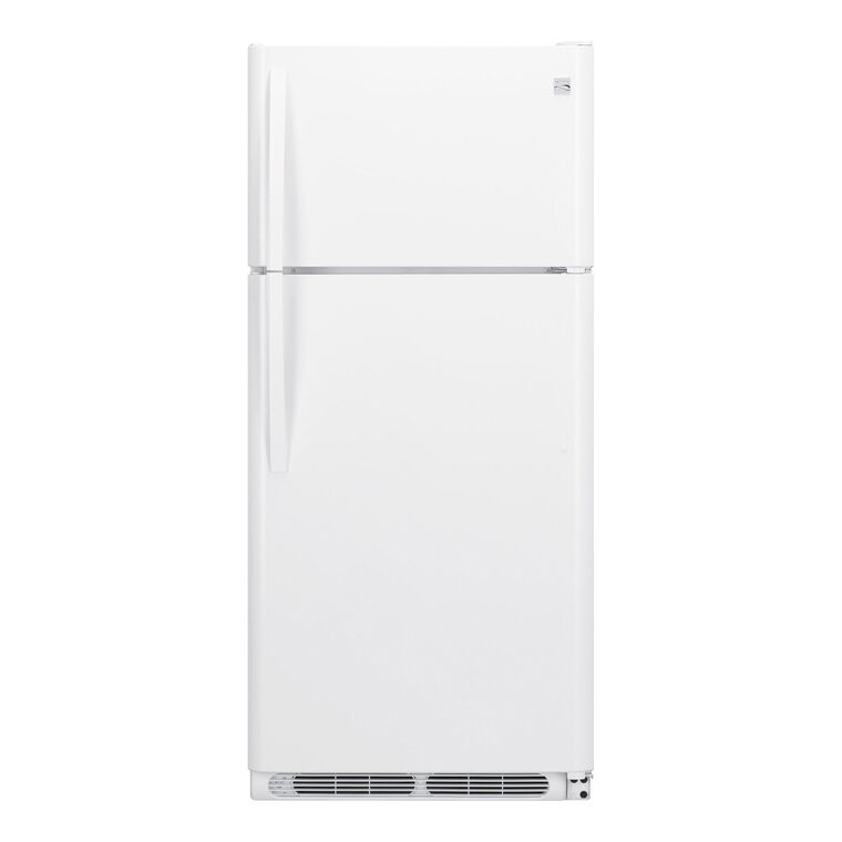 18.1 cu. ft. Top Mount Refrigerator - White