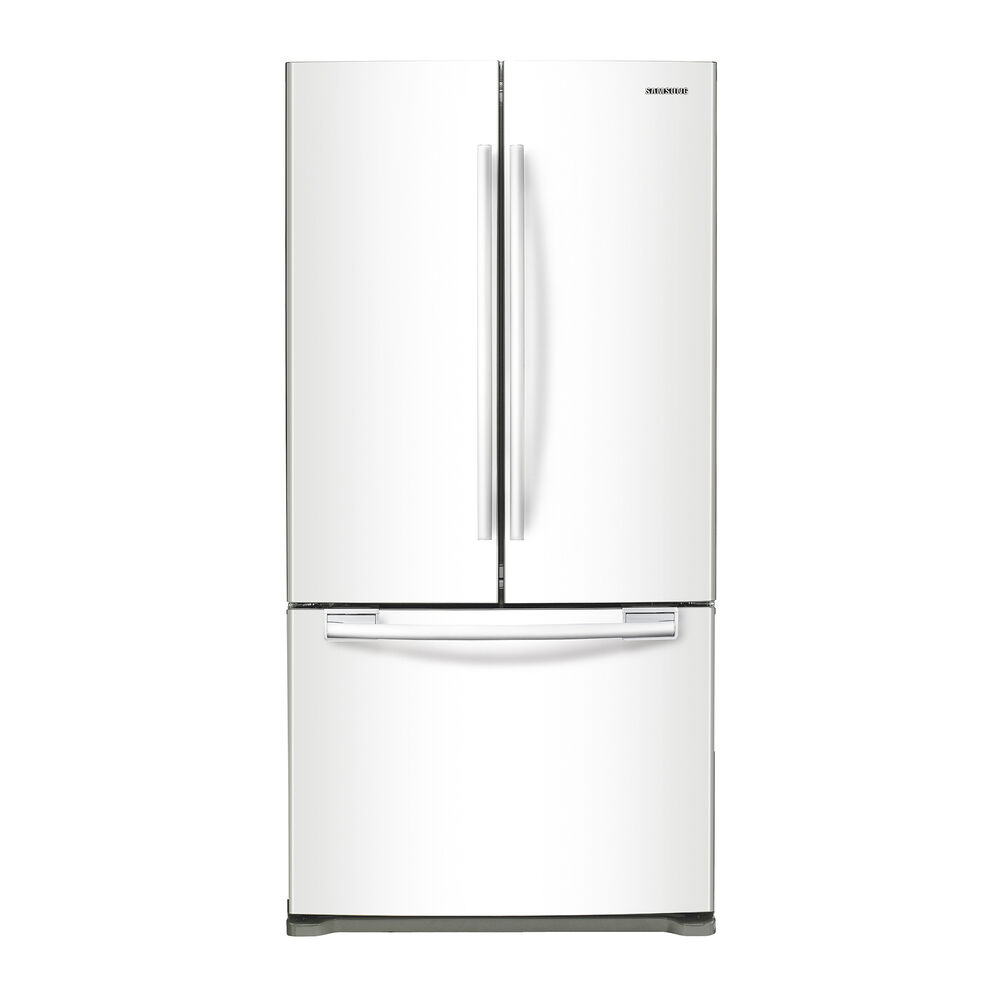 20 Cu Ft French Door Refrigerator: Samsung Appliances Refrigerators 20 Cu. Ft. French Door Refrigerator In White
