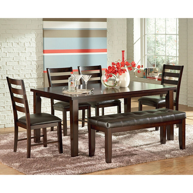dining room furniture. Exellent Furniture 6Piece San Paulo Dining Room Collection Intended Furniture