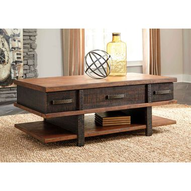 2-Piece Stanah Cocktail & End Table Set