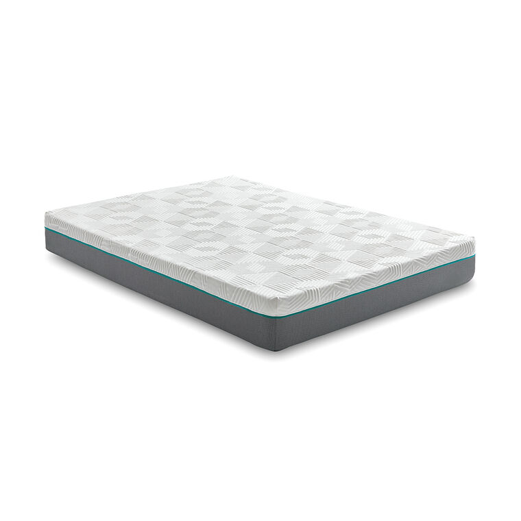 "10"" Tight Top Firm Full Hybrid Boxed Mattress"