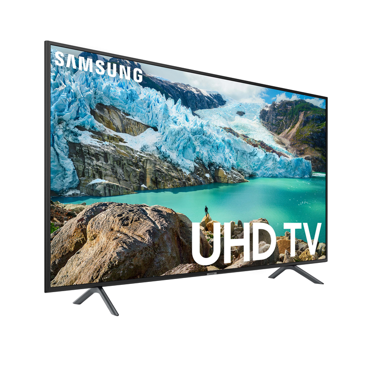 "65"" Class Smart 4K UHD TV with 60"" Fireplace TV Console"