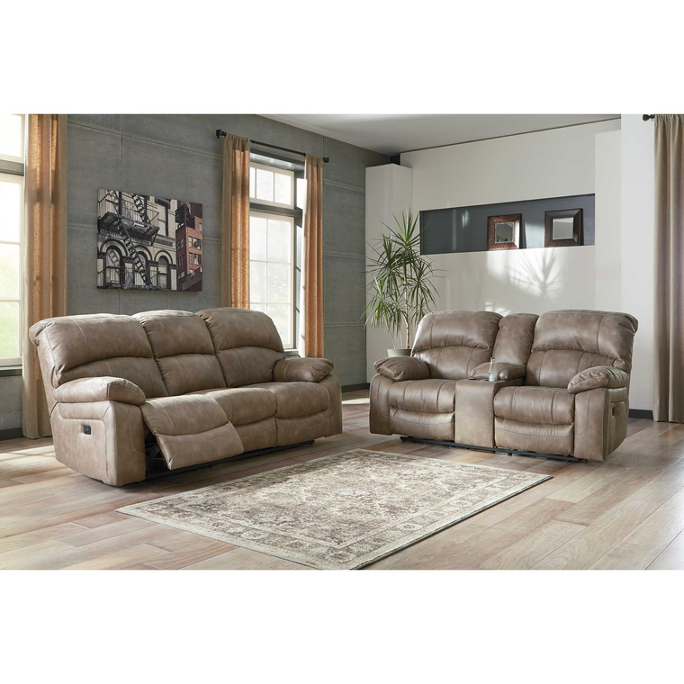 2-Piece Dunwell Driftwood Reclining Living Room Collection