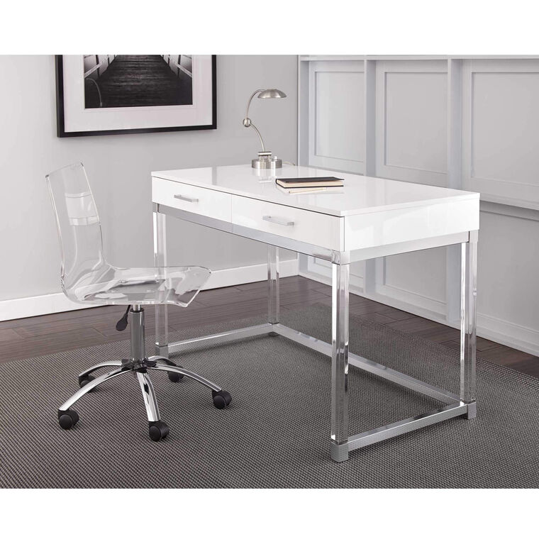 2-Piece Everett Desk and Swivel Chair Set
