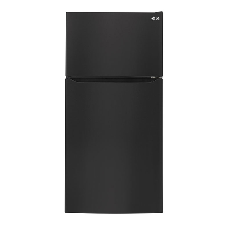 24 cu. ft. Top Freezer Refrigerator - Black