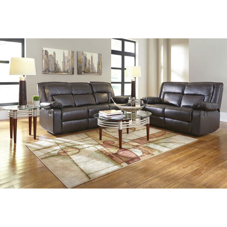 2-Piece Affinity Reclining Sofa and Loveseat